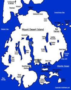 mount deser island visit maine
