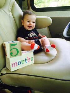 ollie 5 months