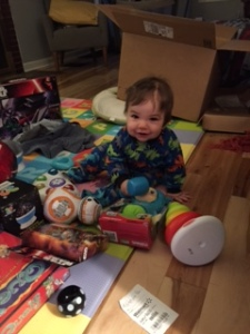Oliver started his Star Wars collection