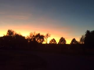 25 sunset in CO