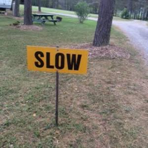 8 slow